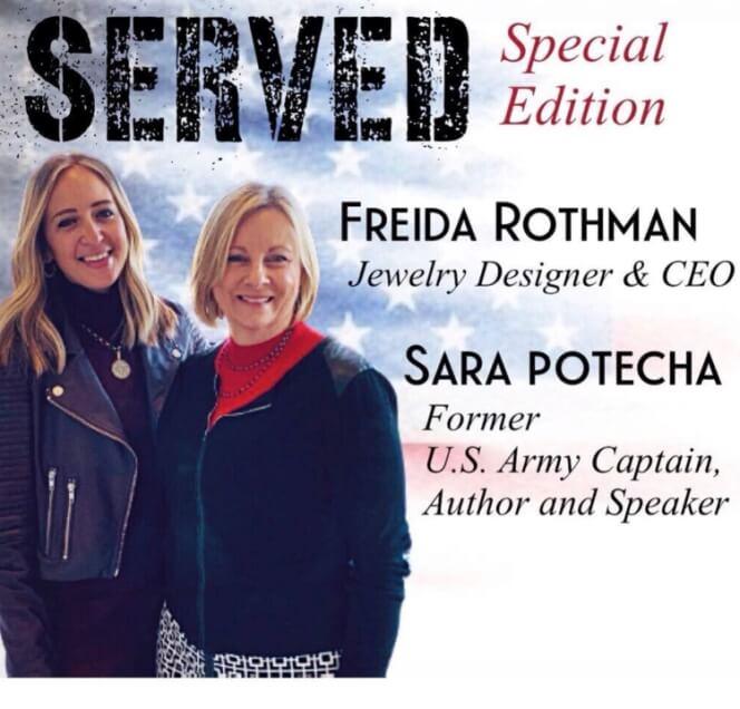Sara Potecha and Freida Rothman